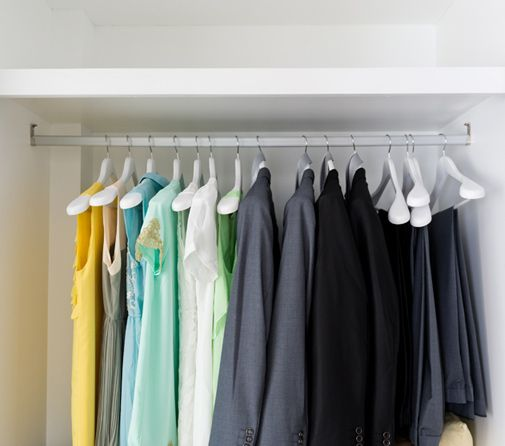 Organize Clothes After Moving