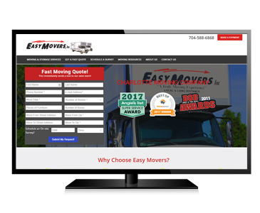 New Easy Movers Website